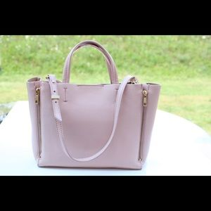 Ann Taylor leather satchel